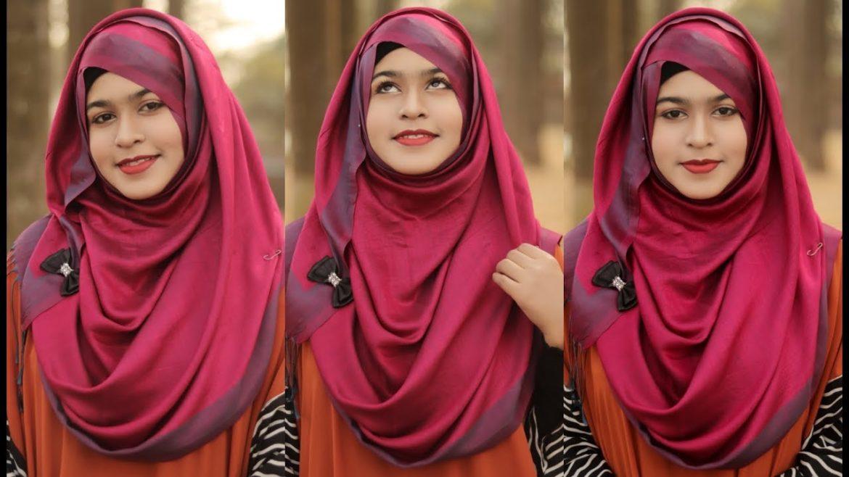 Hijab Tutorial Easy Pashmina Styling Aquila Style